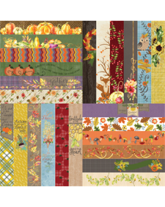 All About Fall by Lauren Hinds Border Strips